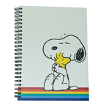 Peanuts Notebook A5 Happy