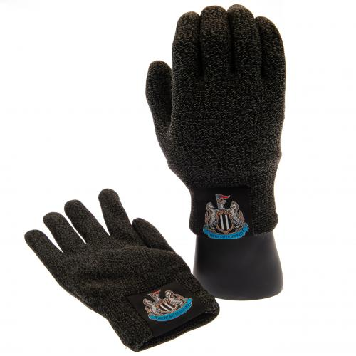 Newcastle United F.C. Luxury Touchscreen Gloves Youths