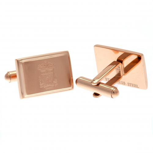 Liverpool F.C. Rose Gold Plated Cufflinks