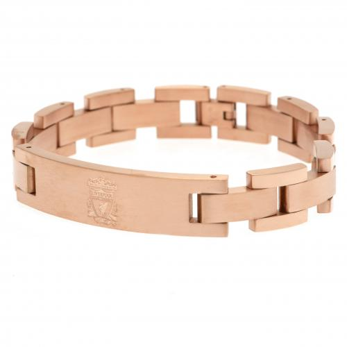 Liverpool F.C. Rose Gold Plated Bracelet