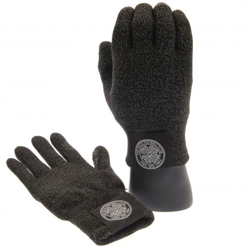 Celtic F.C. Luxury Touchscreen Gloves Youths