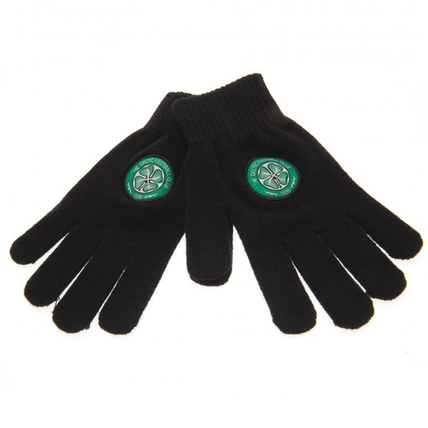 Celtic F.C. Knitted Gloves Yths