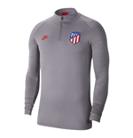 2019-2020 Atletico Madrid Nike Drill Training Top (Gunsmoke)