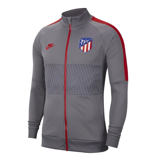 2019-2020 Atletico Madrid Nike I96 Jacket (Gunsmoke)
