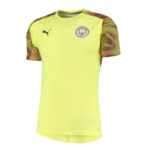 2019-2020 Manchester City Puma Training Shirt (Yellow)