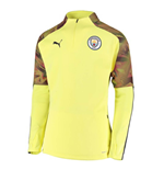 2019-2020 Manchester City Puma Training Fleece (Yellow)