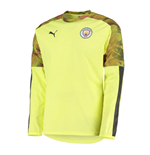 2019-2020 Manchester City Puma Rain Top (Yellow)