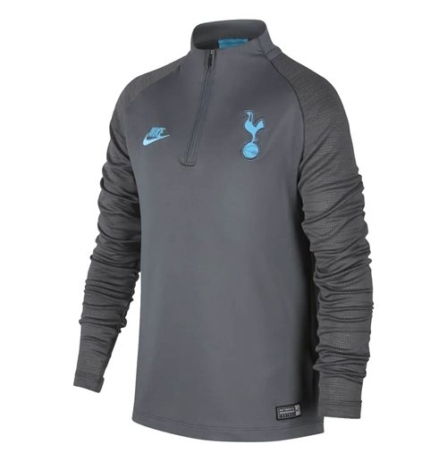 2019-2020 Tottenham Nike Drill Training Top (Grey) - Kids