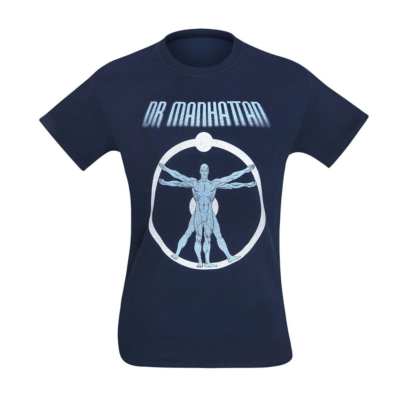 Watchmen Dr. Manhattan Anatomy Men's T-Shirt