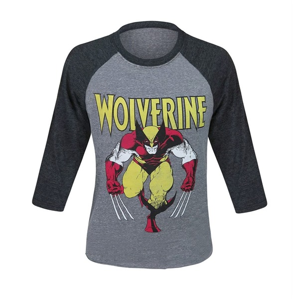 Wolverine Rage Men's Baseball T-Shirt