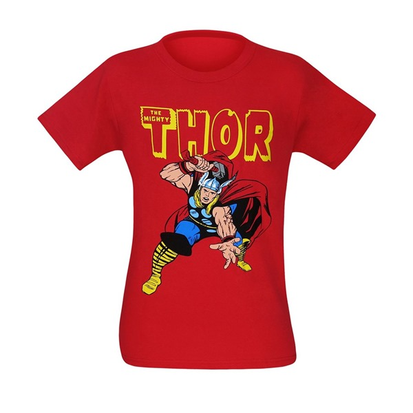 Thor War Hammer Red T-Shirt