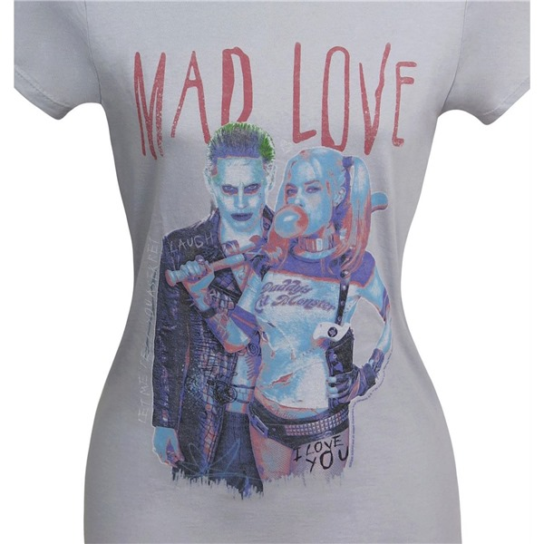Suicide Squad Harley Quinn Mad Love Women's T-Shirt