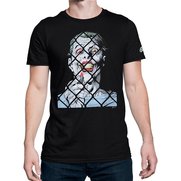 Joker by Jim Lee Variant Cover Men's T-Shirt