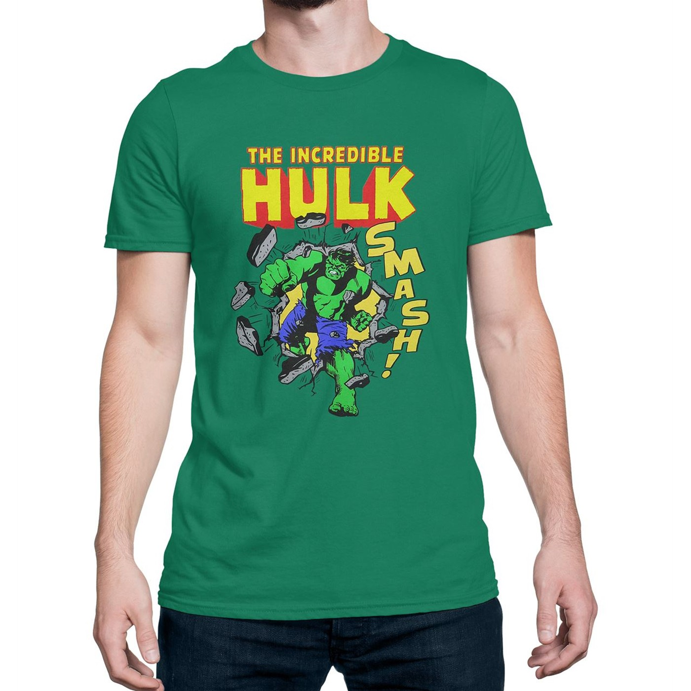HULK Smashing Through Wall T-Shirt
