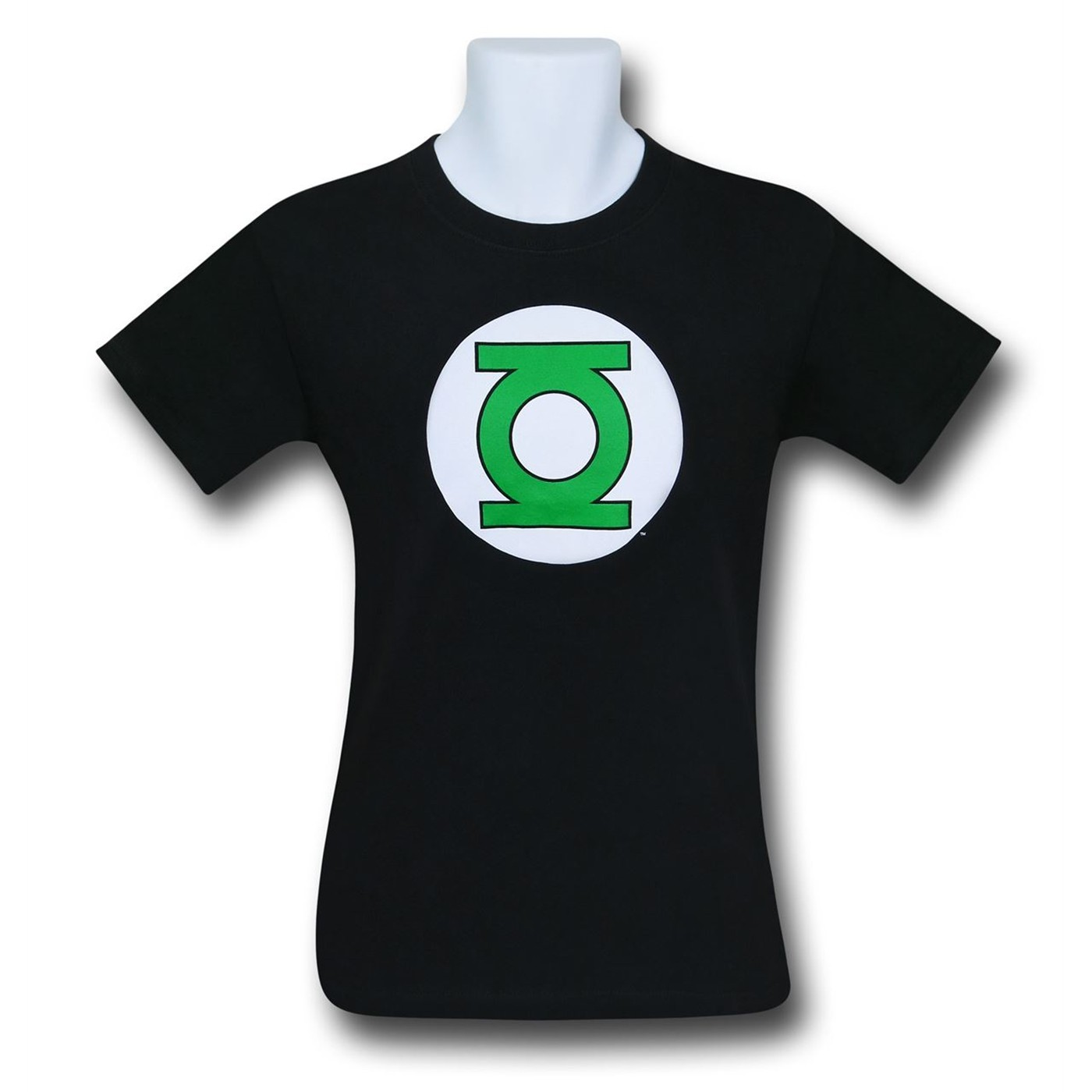 Green Lantern Symbol Black T-Shirt