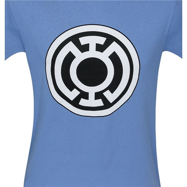 Blue Lantern Big Symbol Blue T-Shirt