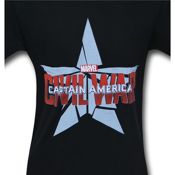 Captain America Civil War Logo T-Shirt