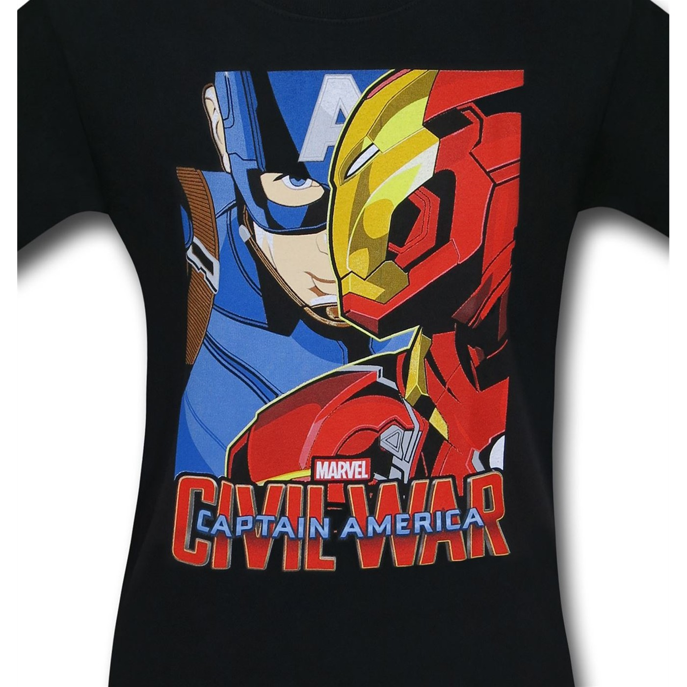Captain America Civil War Broken Brothers Kids T-Shirt