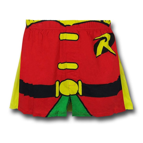 Robin Caped Costume Boxer Shorts