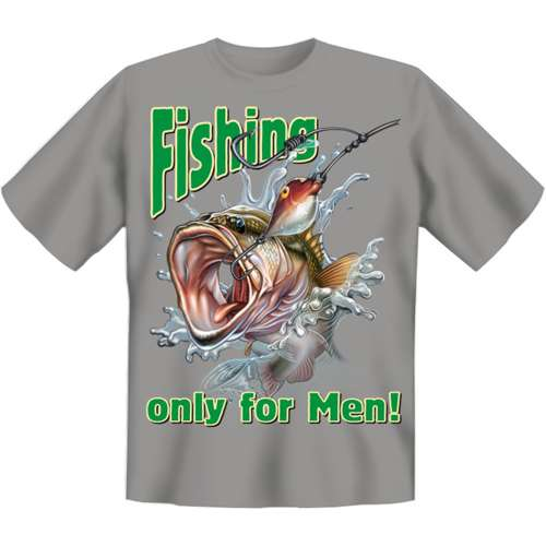 Fishing only for men fun shirt for only at for Hulk fishing shirts