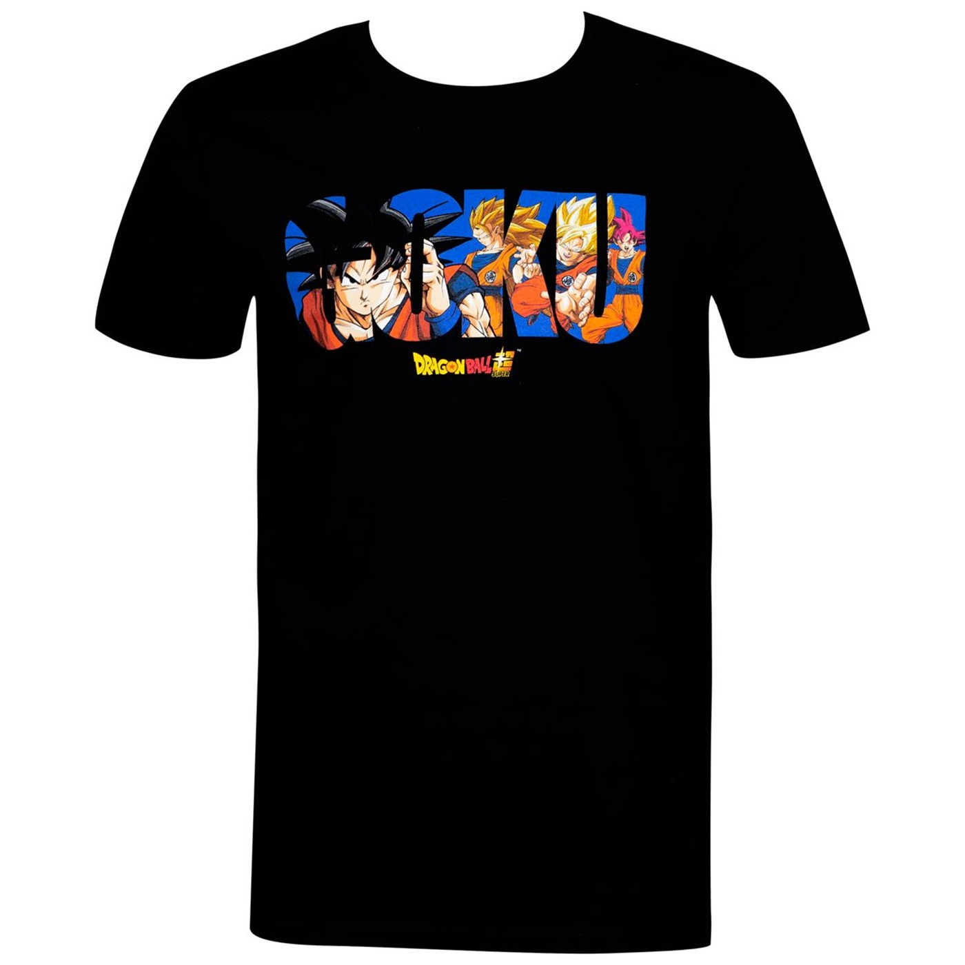 Dragon Ball Super Goku Sayian Levels Men's T-Shirt