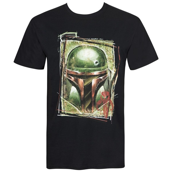 Star Wars Boba Fett Mandalorian Warrior Men's T-Shirt