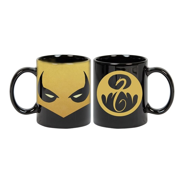 Iron Fist Mask Mug