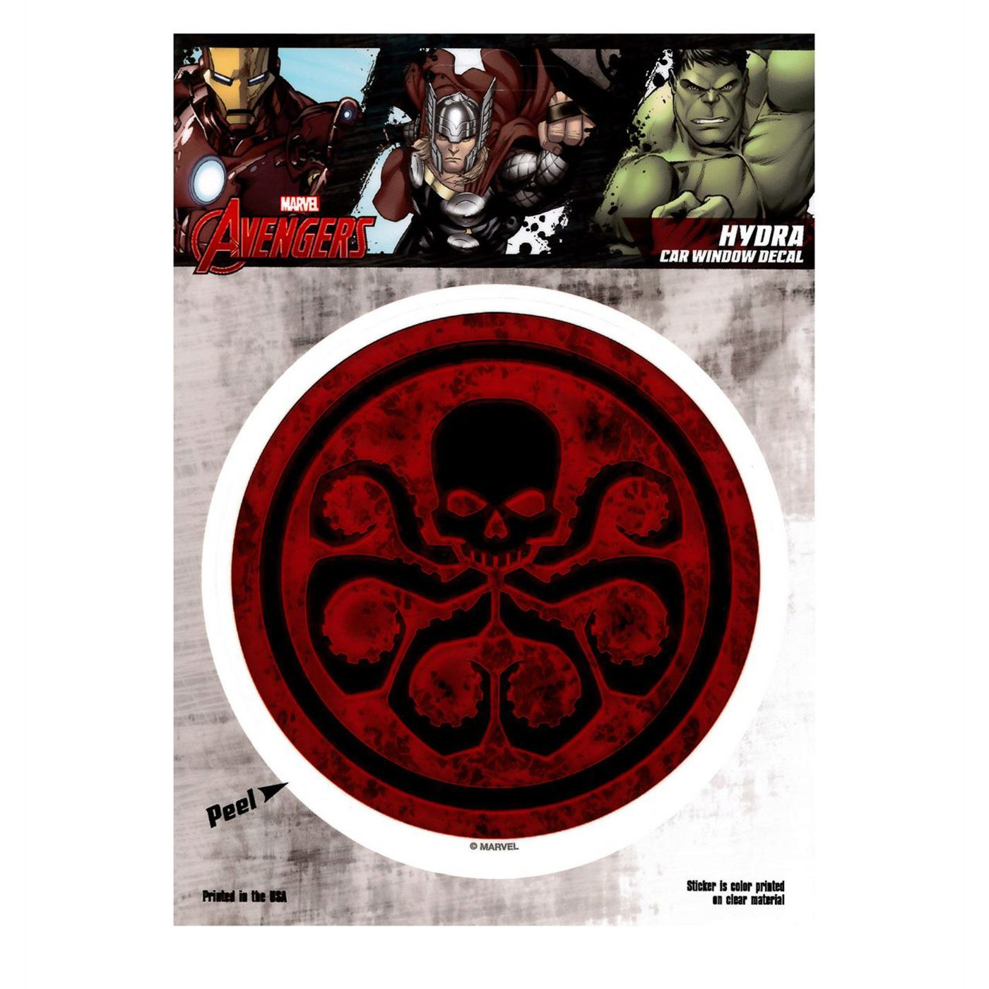 Hydra Symbol Red Decal