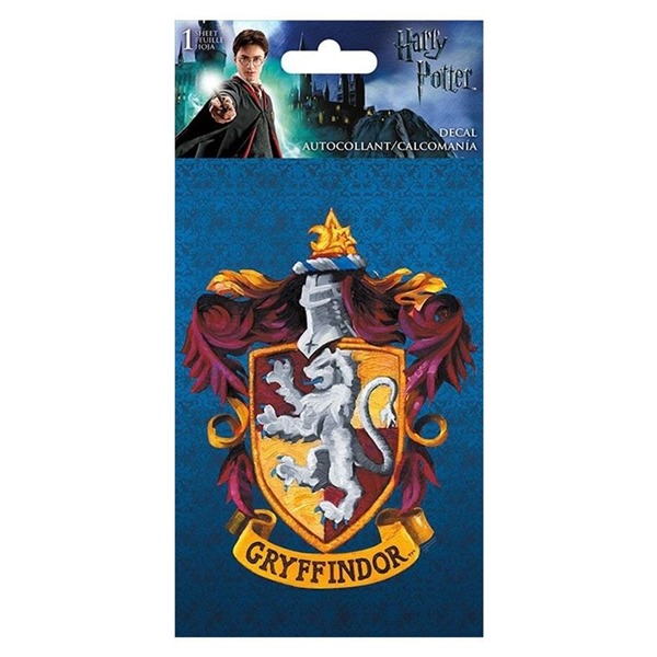 Harry Potter - Gryffindor 4-Color 4 x 8 Decal