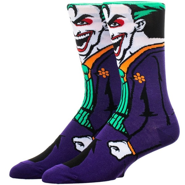 Joker Rebirth 360 Character Crew Socks