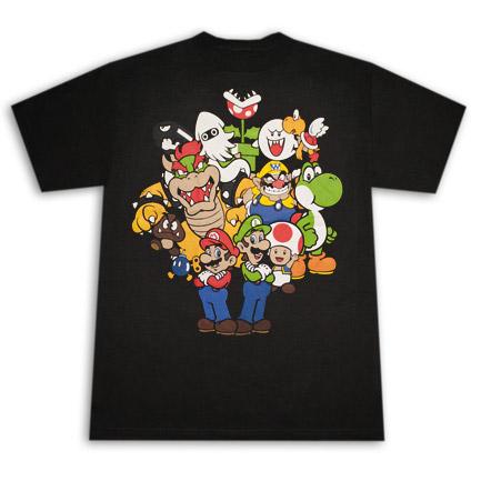 Harley Davidson Prices >> Buy Official NINTENDO Super Mario Bros. Characters TShirt