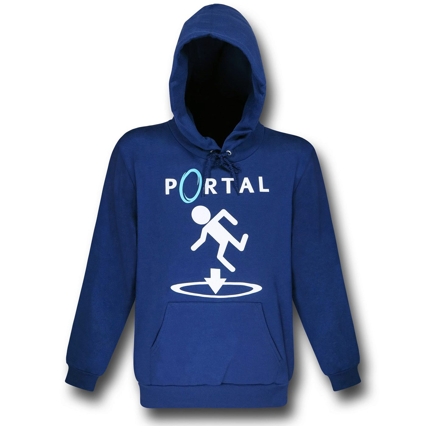 Portal This Way Blue Hoodie
