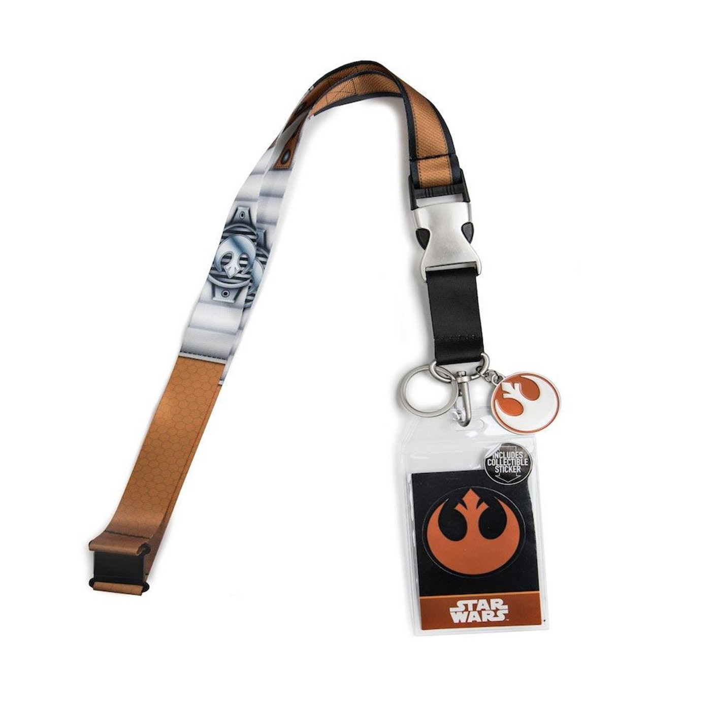 Heroes  and  Villains Star Wars Rebel Pilot Lanyard