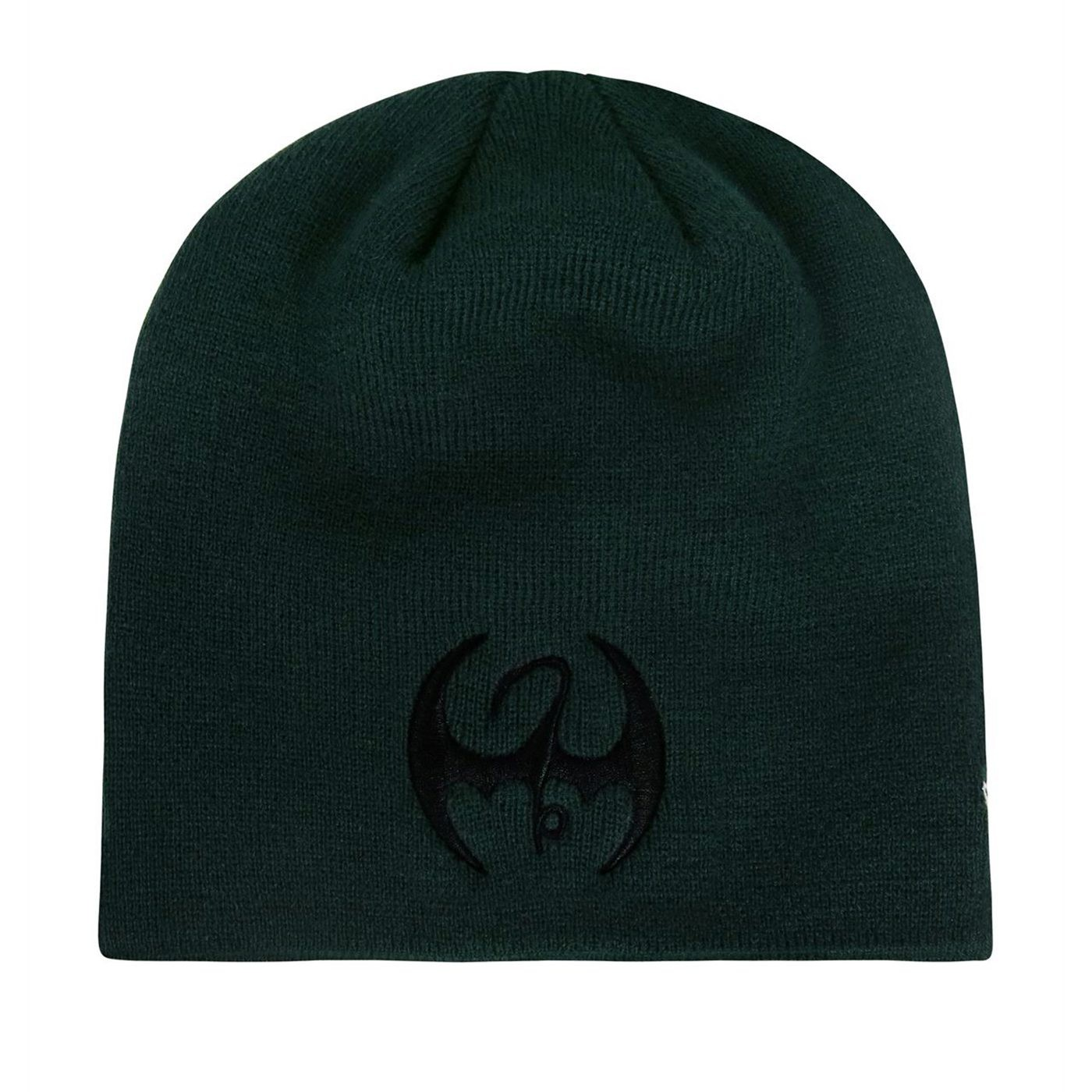 Iron Fist Black Symbol Beanie