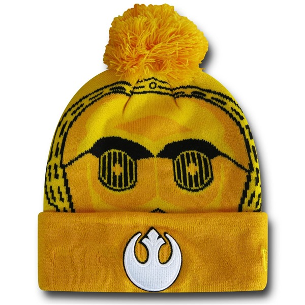 Star Wars C3PO Biggie Beanie