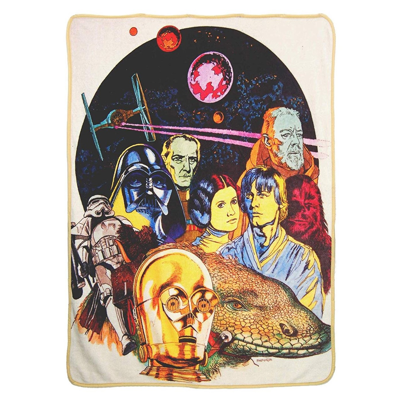 Star Wars Classic Retro Collage Blanket
