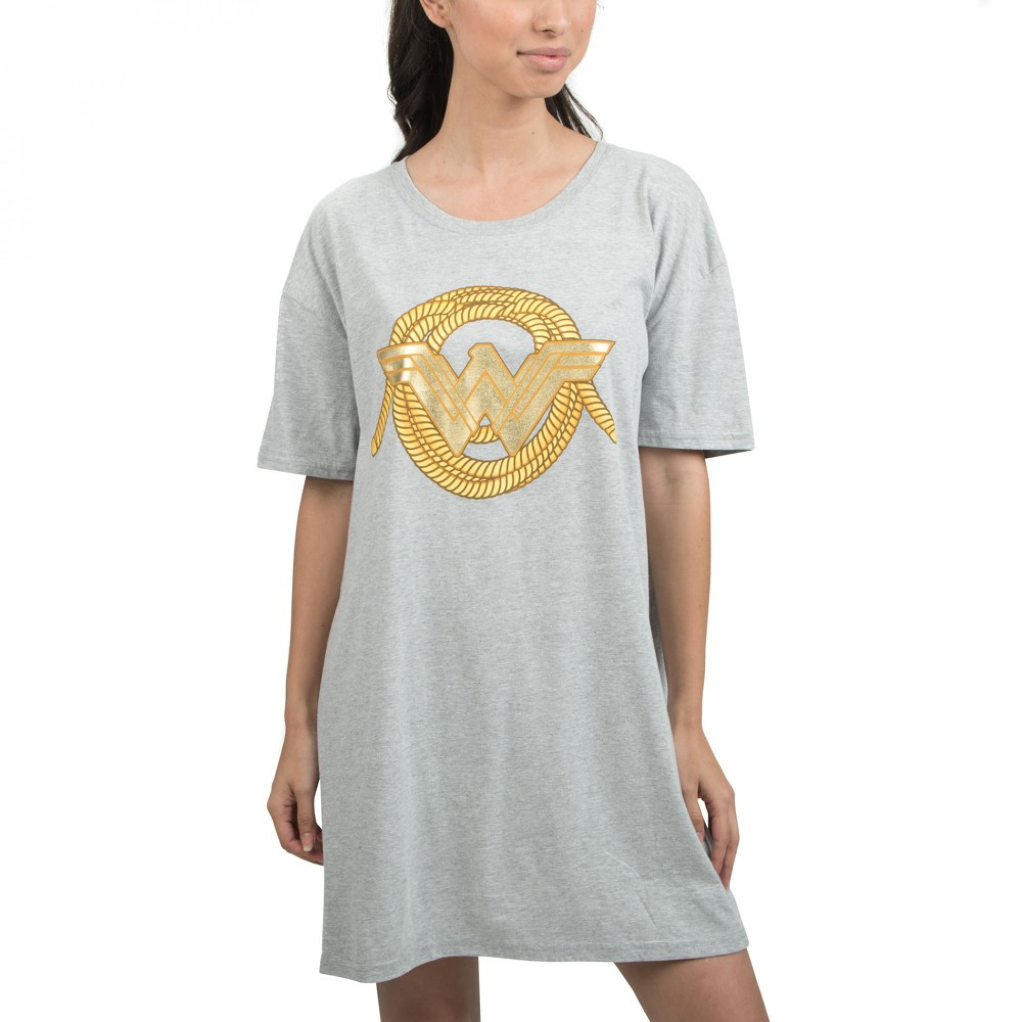 Wonder Women Women's Short Sleeve Night Shirt