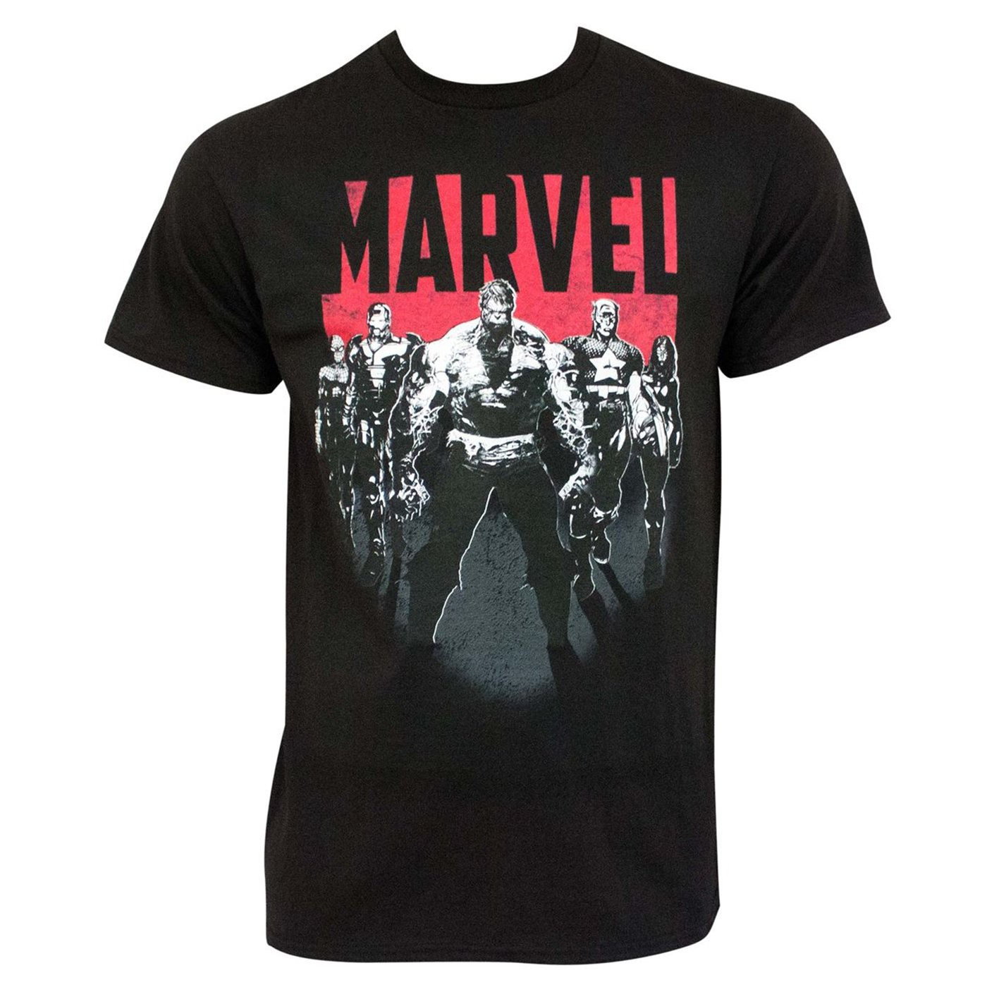 Marvel Avengers Men's Black T-Shirt