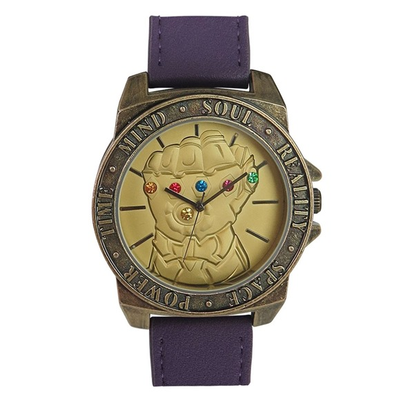 Infinity War Gauntlet Watch with Adjustable Strap