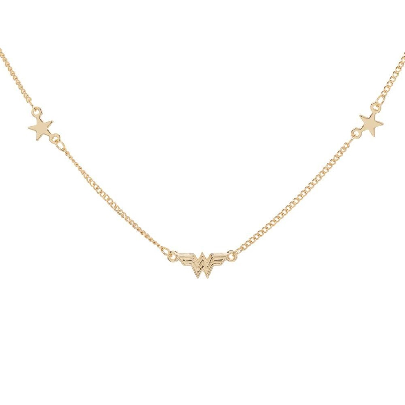 Wonder Woman Petite Logo Necklace