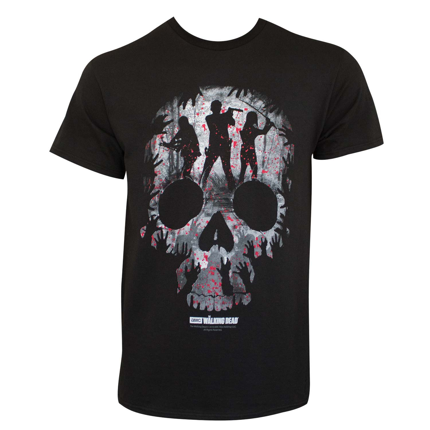 Walking Dead Skull Logo Tee Shirt