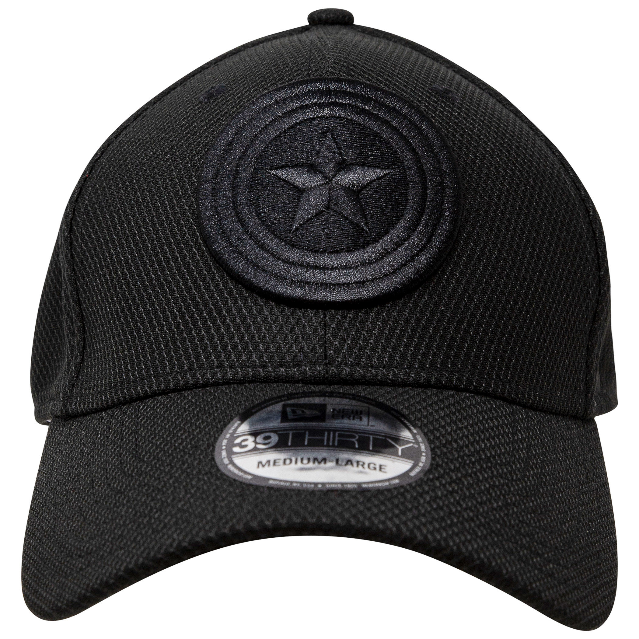 Long Live Captain America MCU Memorial New Era 39Thirty Flex Fitted Hat