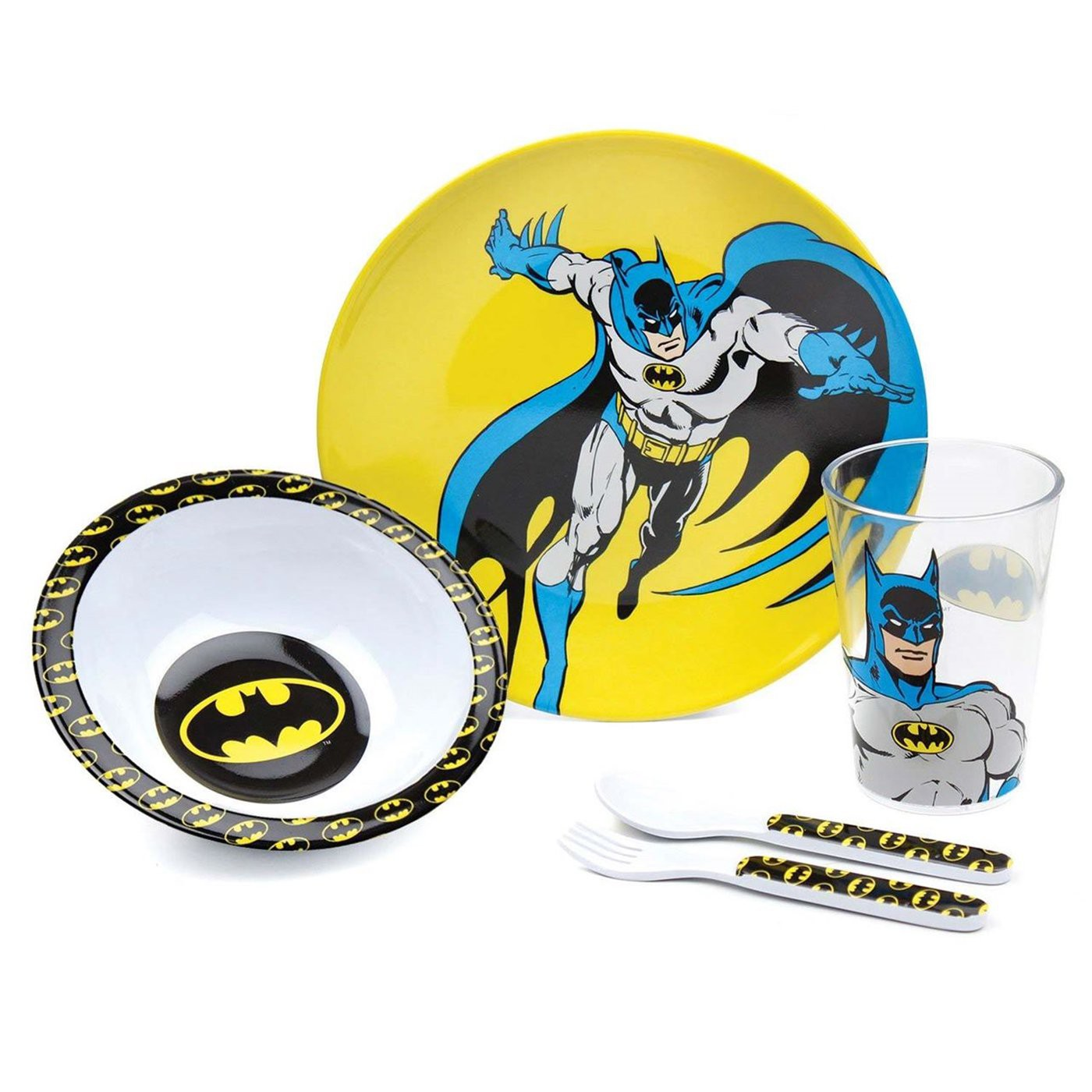 Batman 5 Piece Mealtime Set