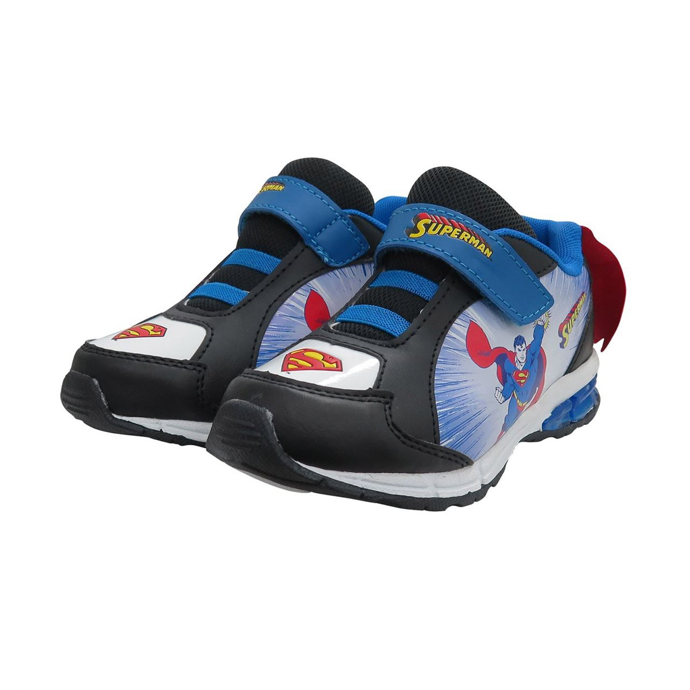 Superman Up Up  and  Away Kids Caped Sneakers