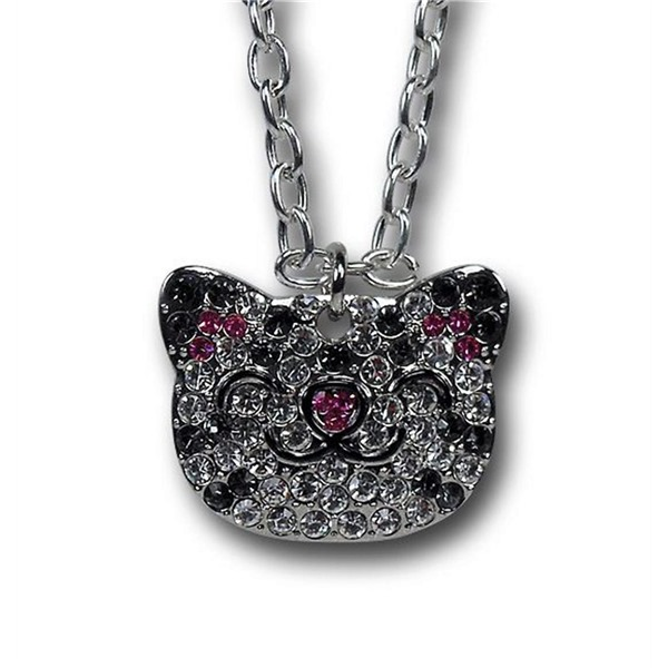 Big Bang Theory Soft Kitty Rhinestone Head Necklace