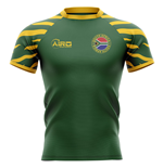 2019-2020 South Africa Springboks Home Concept Rugby Shirt - Womens