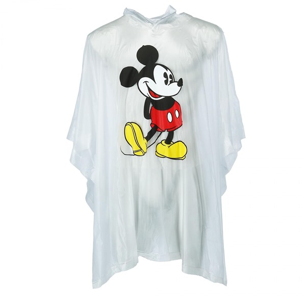 Mickey Mouse Clear Adult Poncho