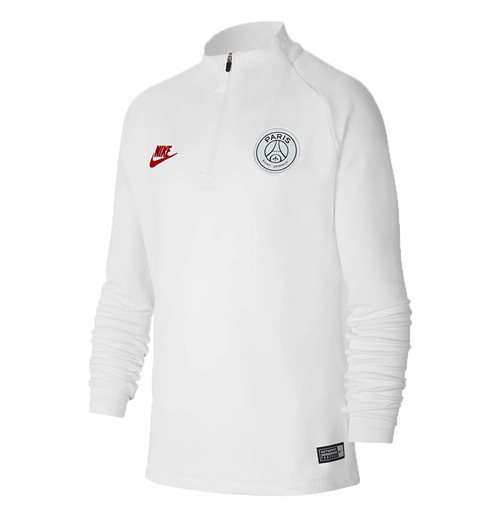 2019-2020 PSG Nike Drill Top (White) - Kids