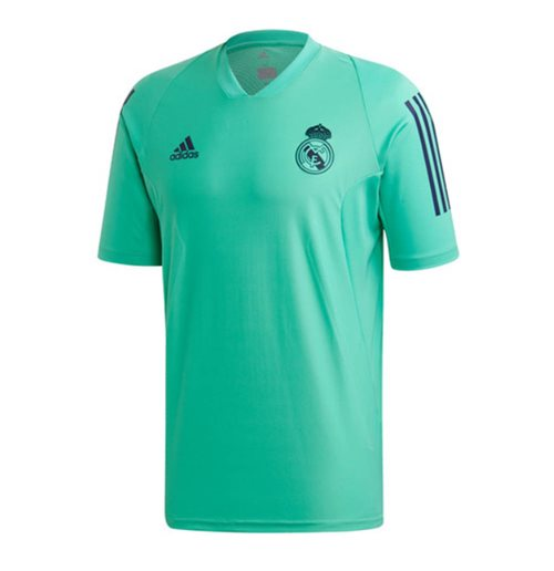 2019-2020 Real Madrid Adidas EU Training Shirt (Green)