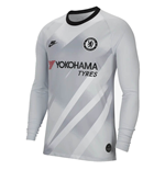 2019-2020 Chelsea Euro Home Nike Goalkeeper Shirt (Platinum)